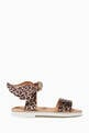 thumbnail of Leopard Print Wing Sandals #1