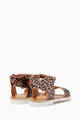 thumbnail of Leopard Print Wing Sandals #2