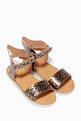 thumbnail of Leopard Print Wing Sandals #0