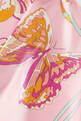 thumbnail of Butterfly Print Silk Twill Skirt     #3