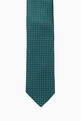 thumbnail of Textured Square Dot Silk Tie   #0