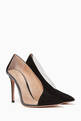 thumbnail of Deela 105 Suede Pumps   #4