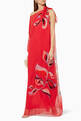 thumbnail of Heliconia One-Shoulder Dress  #1
