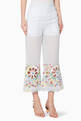 thumbnail of Susie Embroidered Cropped Pants     #0
