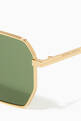 thumbnail of Aviator Metal Sunglasses #3