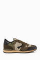 thumbnail of Valentino Garavani Camouflage Rockrunner Sneakers         #0