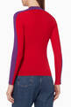 thumbnail of Colour-Block Ribbed Sweater   #2