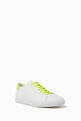 thumbnail of Fluo Nappa Leather Sneakers #2