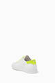 thumbnail of Fluo Nappa Leather Sneakers #3