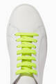 thumbnail of Fluo Nappa Leather Sneakers #4