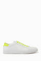thumbnail of Fluo Nappa Leather Sneakers #0