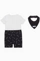 thumbnail of Logo Print T-Shirt & Shorts Set #2