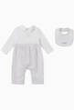 thumbnail of Stripe Cotton Jumpsuit & Bib, Set of 2     #2