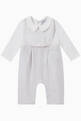 thumbnail of Stripe Cotton Jumpsuit & Bib, Set of 2     #1
