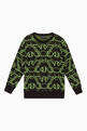 thumbnail of Macro Logo Knit Sweater    #0