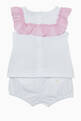 thumbnail of Ruffled Top & Shorts, Set of 2  #2