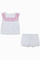 thumbnail of Ruffled Top & Shorts, Set of 2  #1
