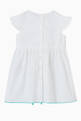 thumbnail of Embroidered Cotton Poplin Dress    #2