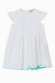 thumbnail of Embroidered Cotton Poplin Dress    #0