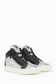 thumbnail of Kriss Metallic Leather Sneakers       #3