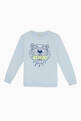 thumbnail of Tiger Embroidered Jersey Sweatshirt       #0