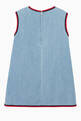 thumbnail of Strawberry Patch Denim Dress   #2