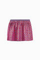thumbnail of G Logo Rhombus Lamé Skirt    #2