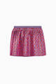 thumbnail of G Logo Rhombus Lamé Skirt    #0