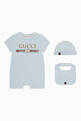 thumbnail of Logo Print Sleepsuit Gift Set #0