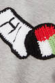thumbnail of Exclusive Flag-Crochet Sweatshirt  #3