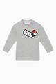 thumbnail of Exclusive Flag-Crochet Sweatshirt  #0