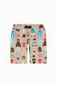 thumbnail of Sports Print Jersey Shorts    #0
