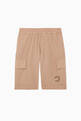 thumbnail of Basketball Appliqué Bermuda Shorts   #0
