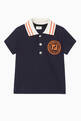 thumbnail of Logo-Stamped Cotton Polo Shirt  #0