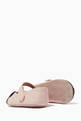 thumbnail of Teddy Bear Leather Ballerina Shoes #1