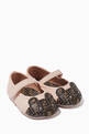 thumbnail of Teddy Bear Leather Ballerina Shoes     #0