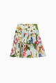 thumbnail of Floral-Tiered Skirt #2