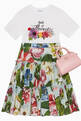 thumbnail of Floral-Tiered Skirt #1