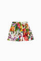 thumbnail of Floral Print Poplin Skirt    #2