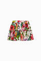 thumbnail of Floral Print Poplin Skirt    #0