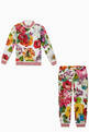 thumbnail of Blooming Floral Jersey Tracksuit    #4
