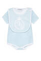 thumbnail of Logo Print Bodysuit & Bib Gift Set    #1