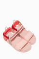 thumbnail of FF Leather Slingback Sandals #0