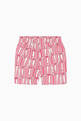 thumbnail of Logo Type Print Shorts #2