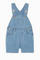 thumbnail of Chambray Cotton & Linen Dungarees   #0