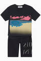 thumbnail of Graphic-Print Jersey T-Shirt   #1