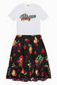 thumbnail of Fruit Print Cotton Skirt     #1