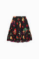 thumbnail of Fruit Print Cotton Skirt     #0
