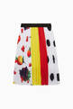 thumbnail of Fruits Print Pleated Skirt    #2