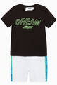 thumbnail of Logo Tape T-Shirt & Shorts Set     #0